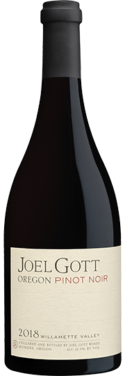 2018 Joel Gott Oregon Pinot Noir