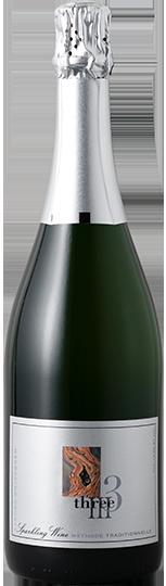 NV Three Mendocino County Sparkling Wine