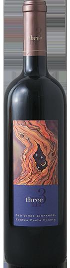 2016 Three Old Vines Zinfandel Contra Costa County