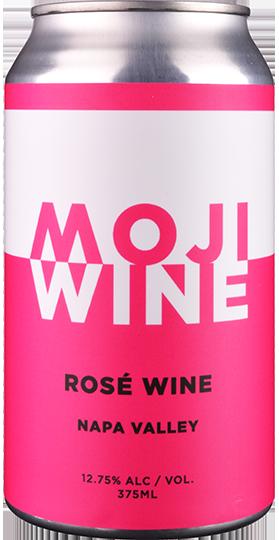 NV モジ ナパ・ヴァレー ロゼ・ワイン (375ml x 24缶入り)