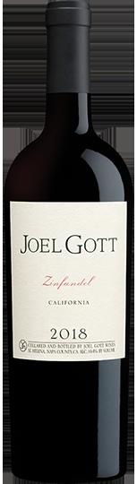 2018 ジョエル・ゴット カリフォルニア ジンファンデル