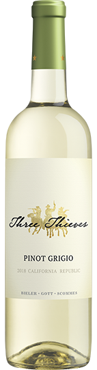 2018 Three Thieves California Pinot Grigio